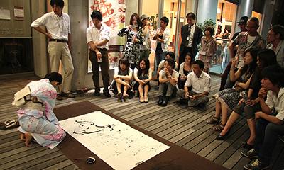 2010年創業記念予行練習画像02